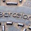 Barcelona, Spain nameplate.