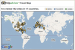 Luc and Alison TripAdvisor Travel Map